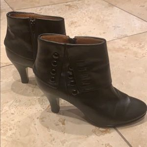 Sofft black leather boots